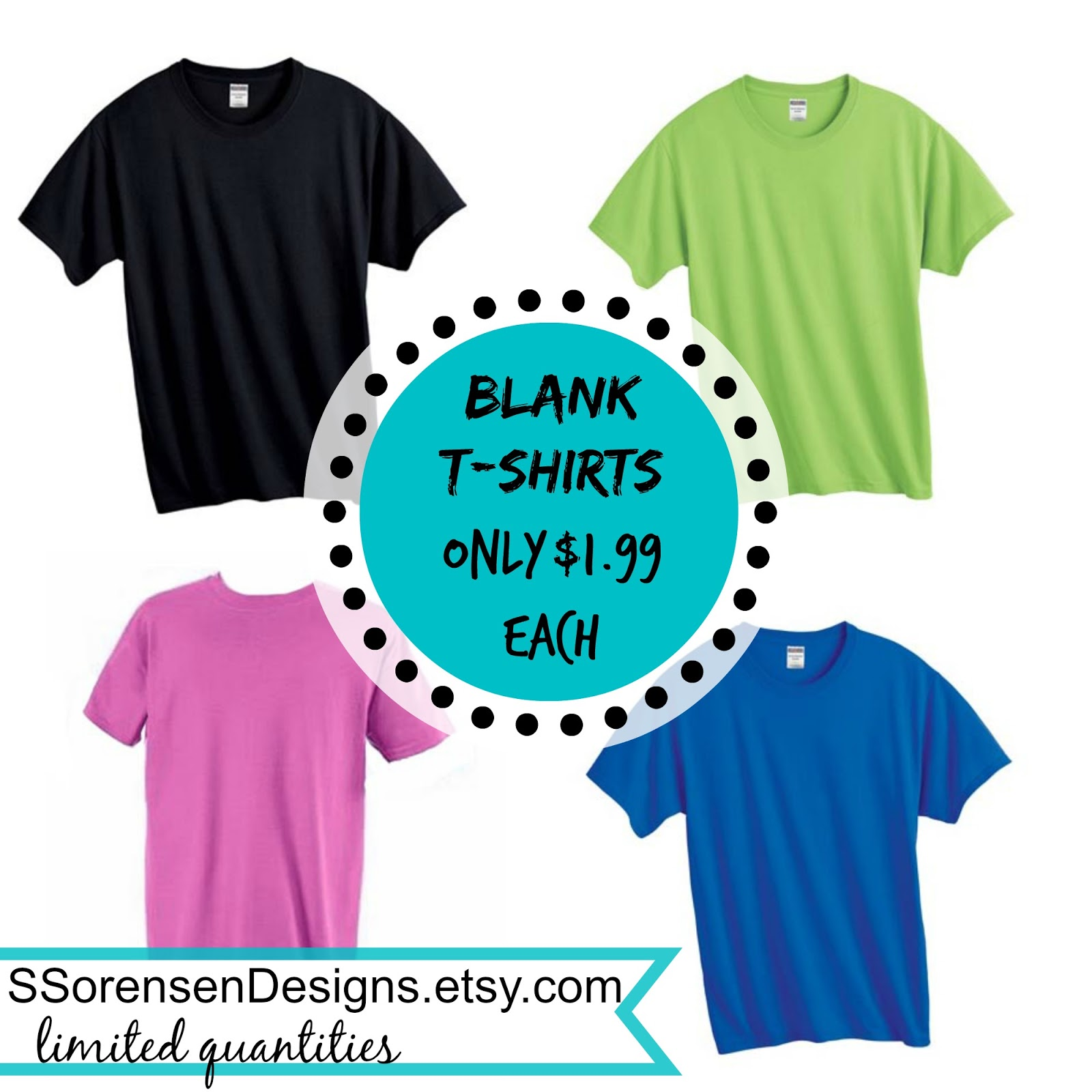 sale plain t-shirts mens womens black blue green