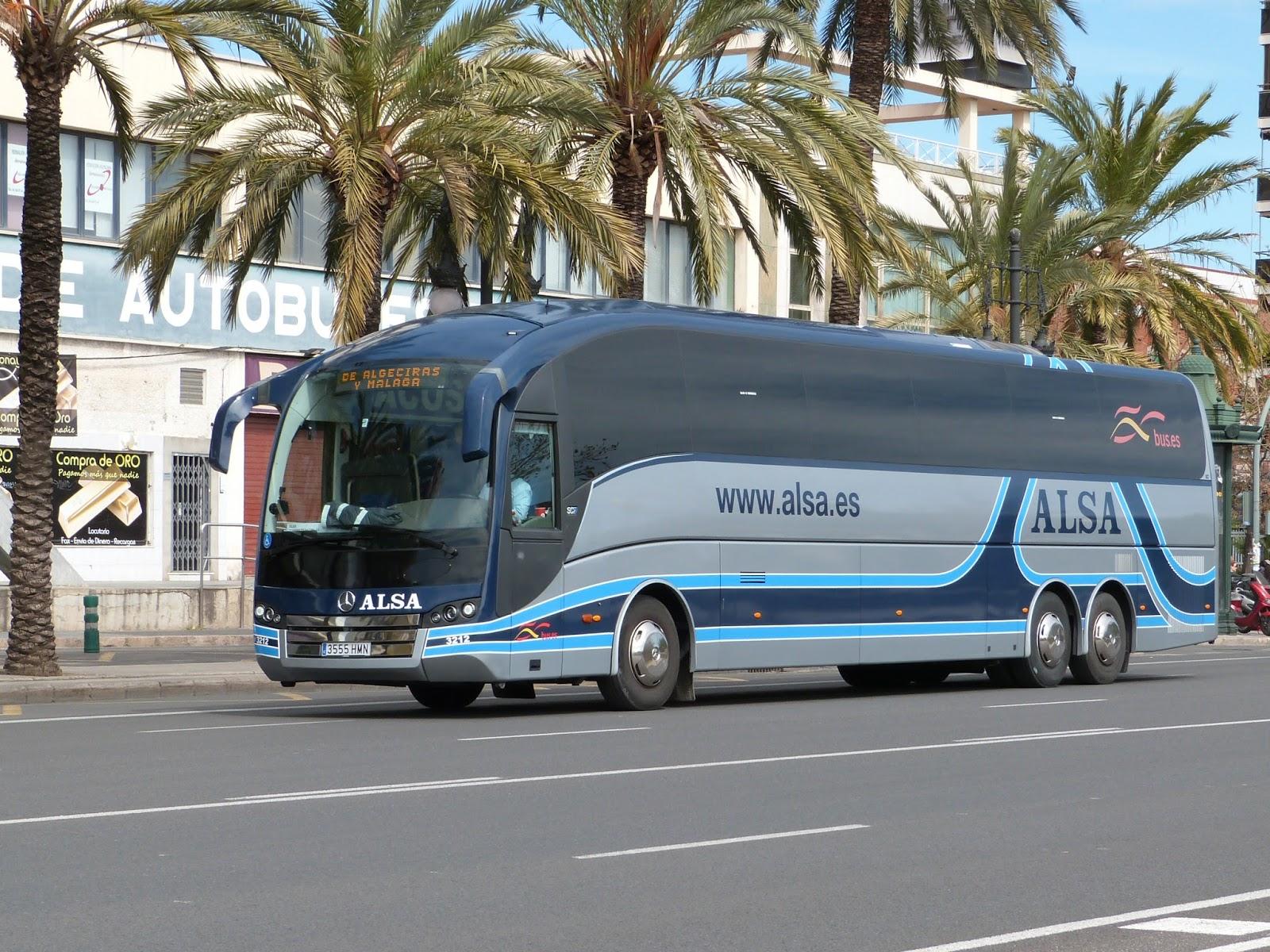 Autocares y Autobuses por Valencia: Alsa, 3.212