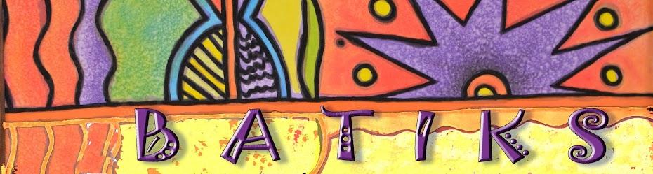 Batik, artesanía, regalos, Pintura en tela,artesana,envío a domicilio,exposición, Claudia
