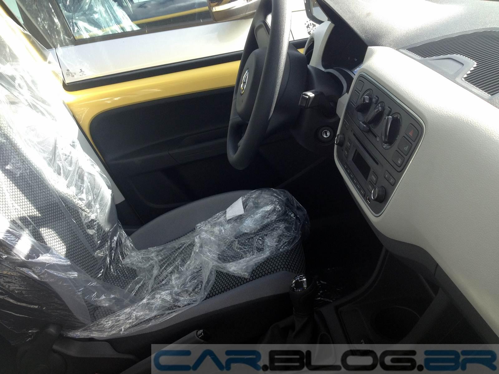 Volkswagen up! - interior Move-Up!