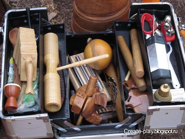 барабаны и шумелки