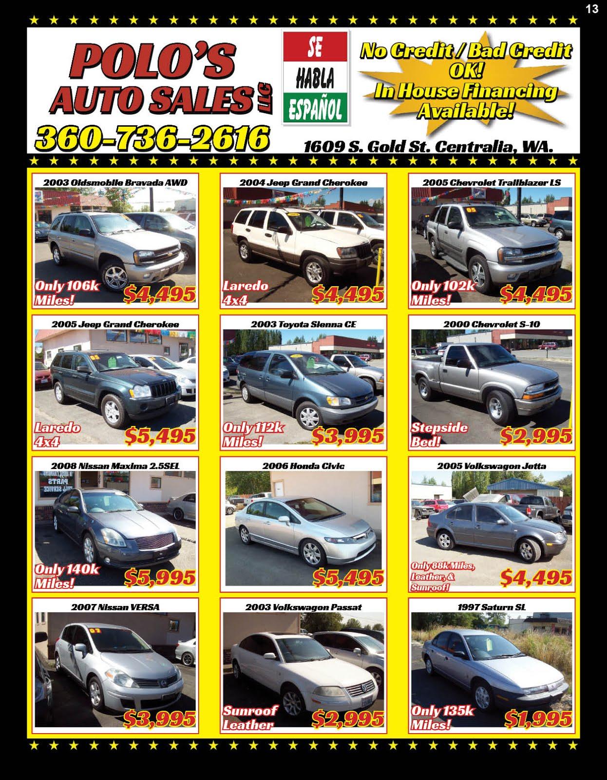 Polo's Auto Sales