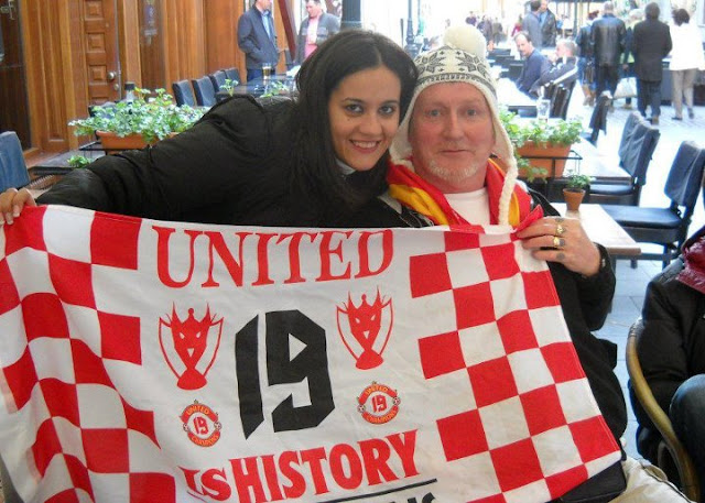 Glory Glory Manchester United!