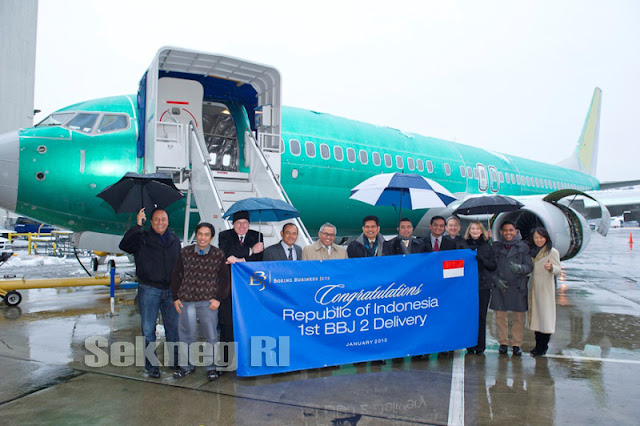 Air Force One Indonesia - Pesawat Kepresidenan RI