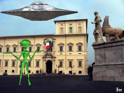UFO al Quirinale