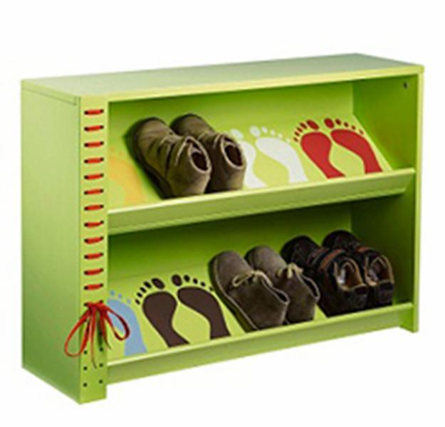 Muebles en mdf para ni os imagui for Mueble para guardar zapatos madera