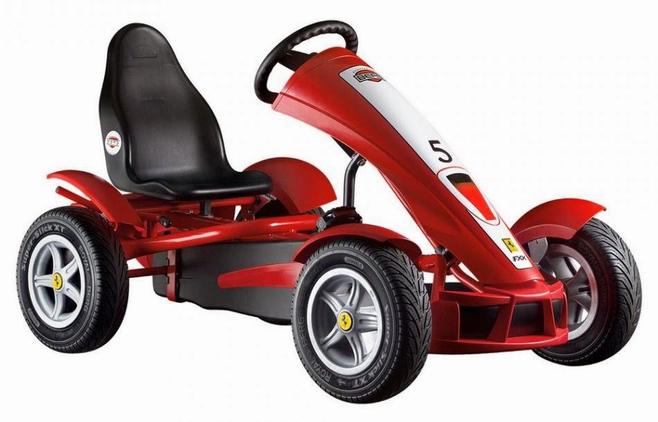 Regalare un giocattolo il go kart a pedali un giocattolo for Giocattoli per bambini di 5 anni