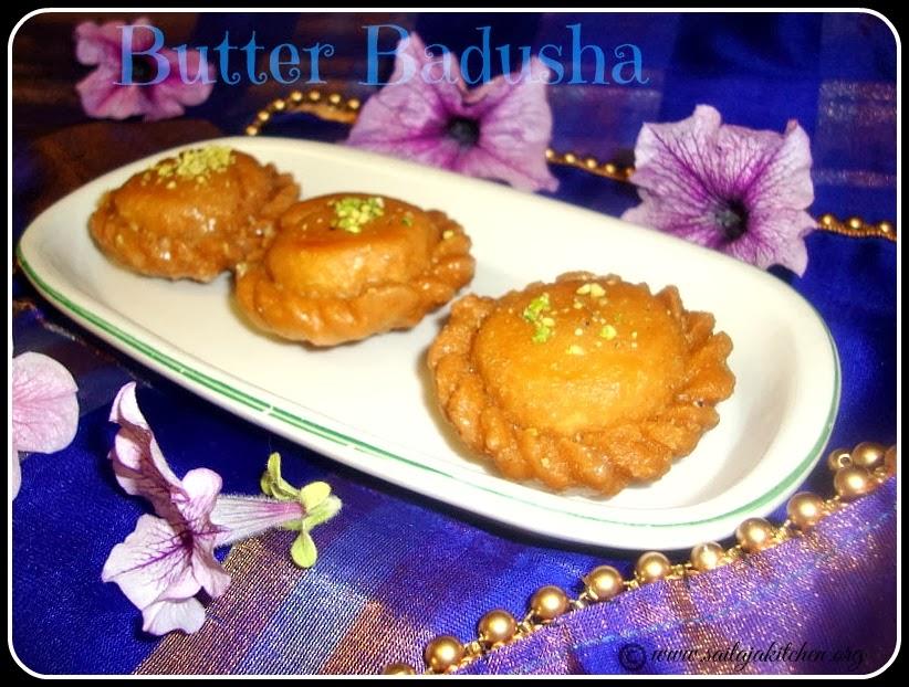 Butter Badhusha recipe,Badusha Recipe,Badhusha Recipe / Balushahi Recipe