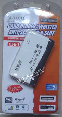 Card Reader M-Tech Anti Gores - Image by www.gtx-komputer.com