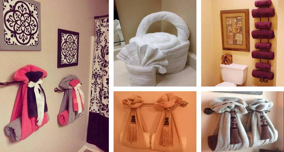15 Diy Pretty Towel Arrangements Ideas That Will Make