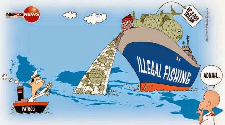 Illegal Fishing Udang Yang Terjadi Di Perairan Laut Arafura Dari