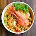 Spot Prawns And Rice Jambalaya