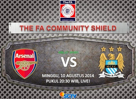 Jadwal Siaran Langsung The FA Community Shield 2014 SCTV