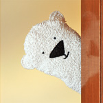 Polar Bear Wash Time Glove Puppet