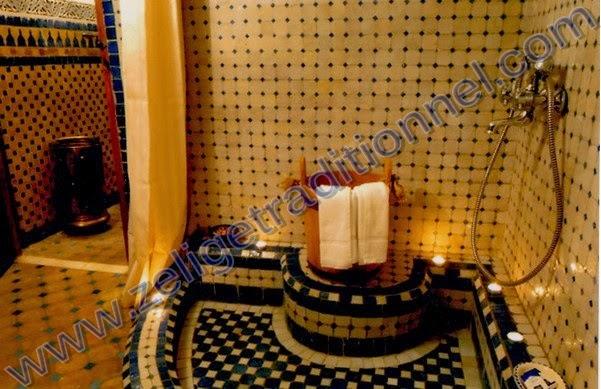 hamam--zellige.blogspot.com/: hammam en zellige marocain moderne ...