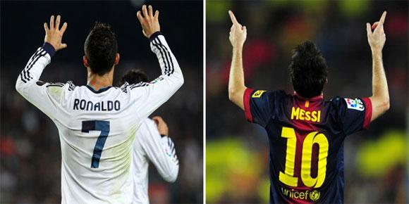 Messi - Ronaldo Berbagi Gol di El Clasico Liga Spanyol