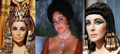 Dame Elizabeth Taylor as Cleopatra