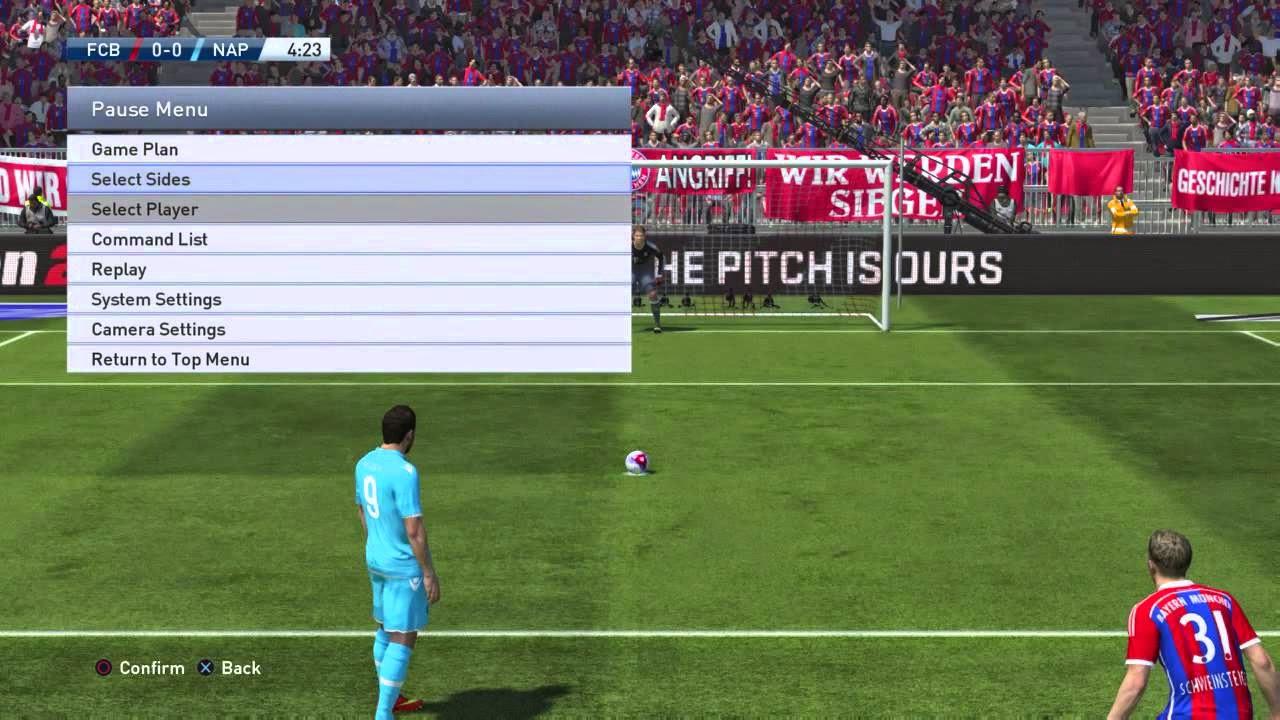 Trik Maknyus Penalti di PES 2015