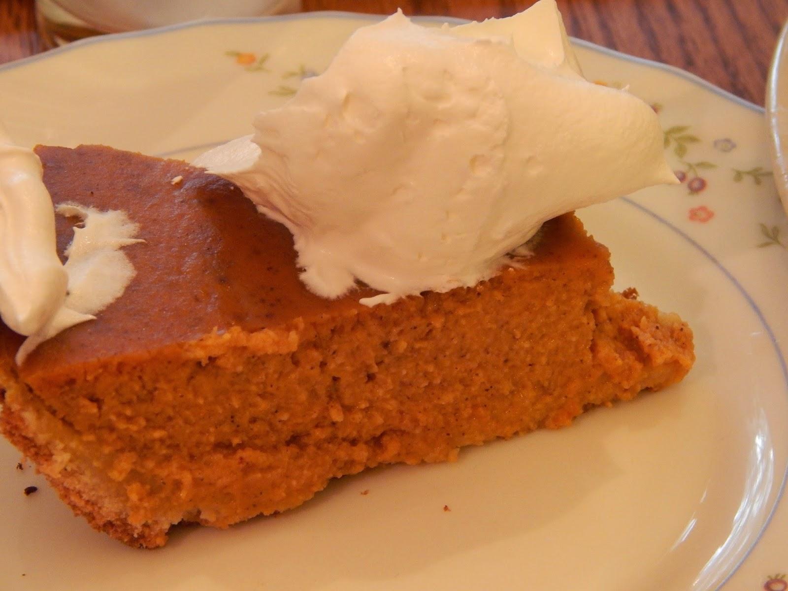 KCK Blogger: Gluten Free Pumpkin Pie