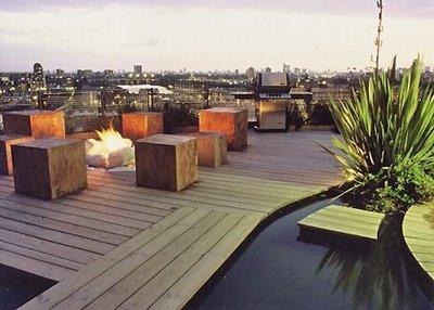 Modernas terrazas para tu casa 2012 cocinas modernass for Diseno terrazas modernas