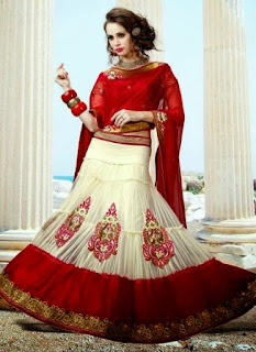 Fish-Cut Lehenga for Teenagers