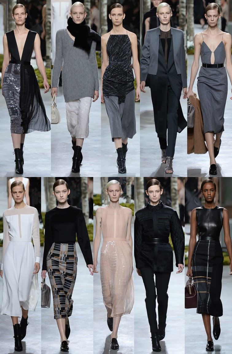 Hugo Boss by Jason Wu fall winter 2014 runway collection, NYFW, fashion week
