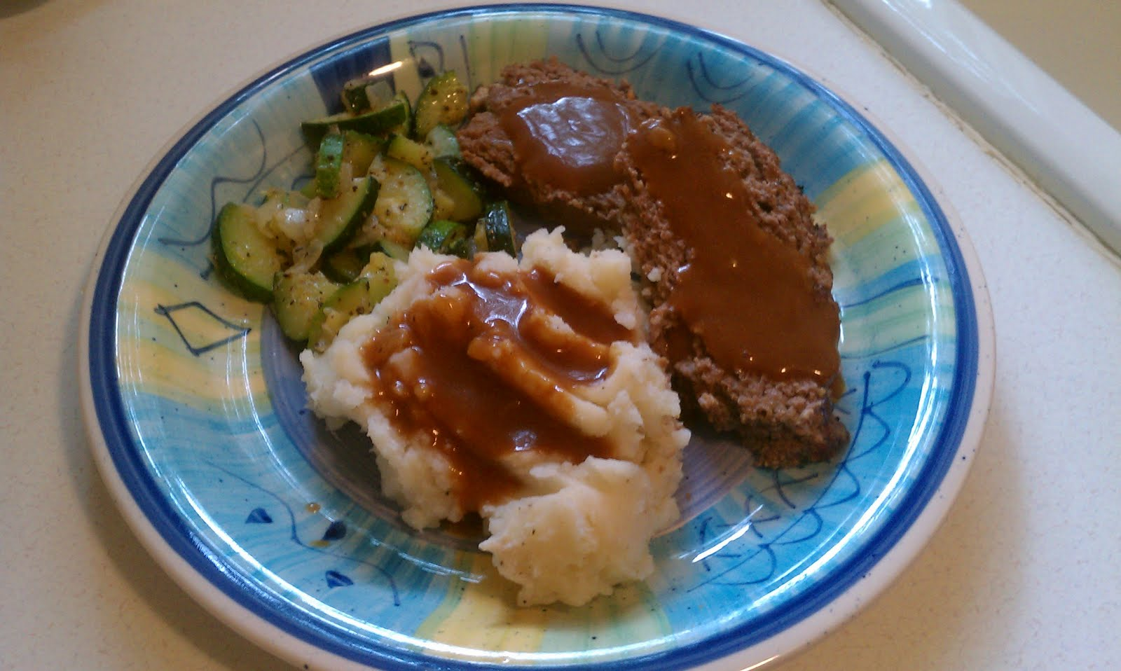 Persnickety Plates: Meatloaf with Brown Gravy