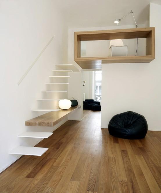 Living in designland detalle escalera volada for Detalle escalera volada