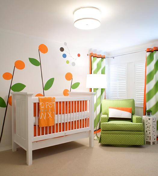 Chambre b b 10 id es d co for Idee deco slaapkamer baby jongen