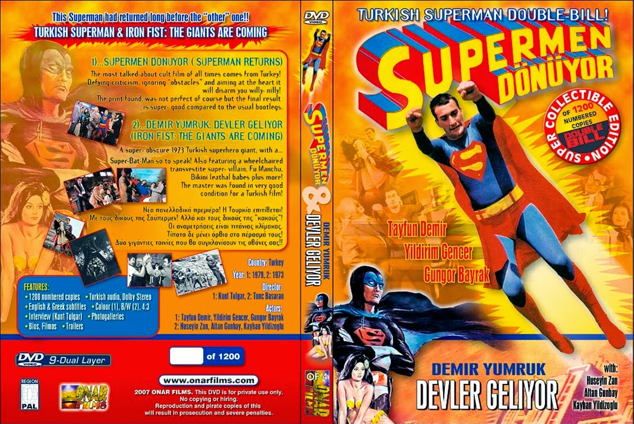 El retorno de Superman - Turkish Superman - Süpermen dönüyor - The Return of Superman