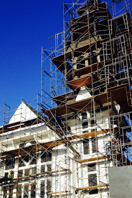 Lincoln Square steeple renovation