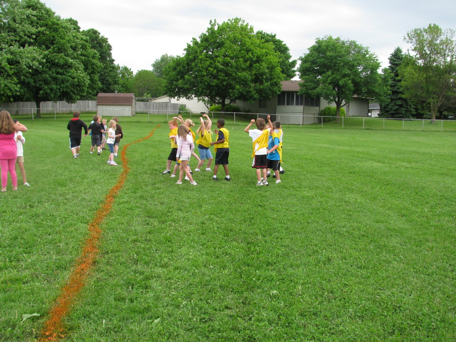 carlys pe games physical education outdoor games