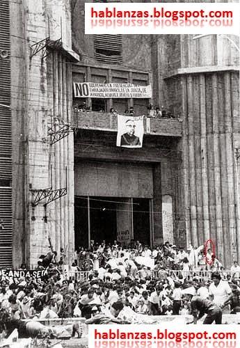 Caos en el funeral de monseñor Romero