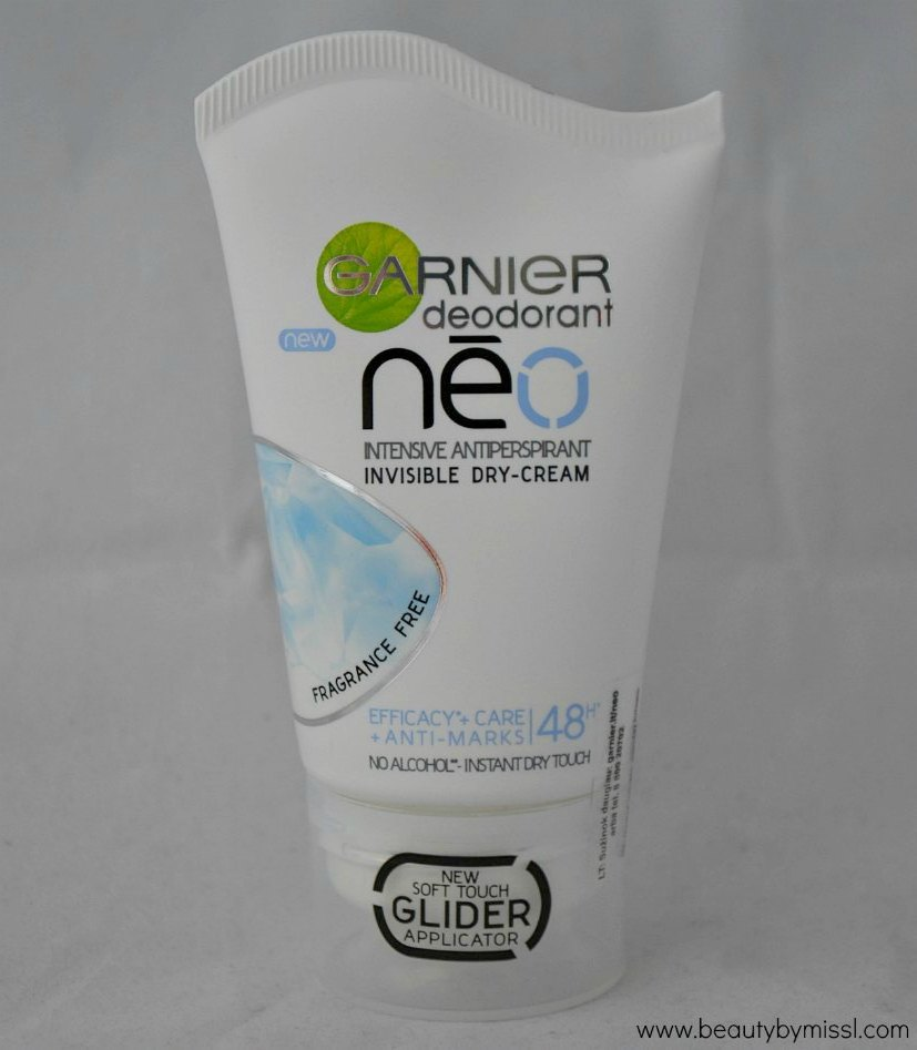 Garnier Neo Invisible Dry Cream review