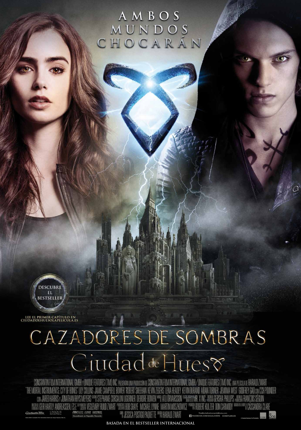 Cazadores De Sombras Ciudad De Hueso (2013)