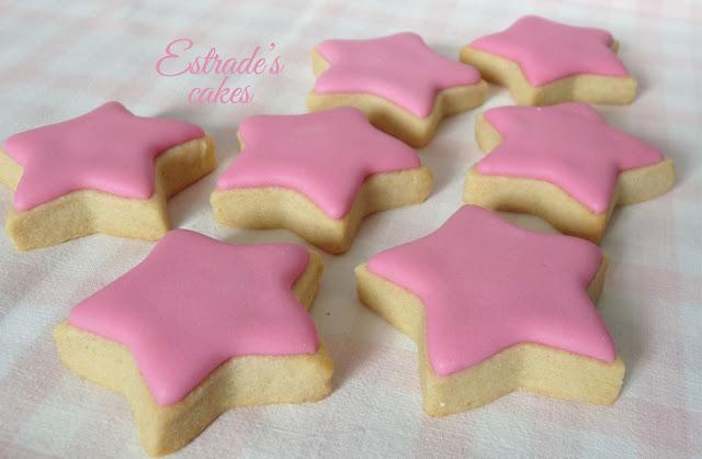 galleta de estrellas con glasa 1
