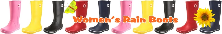 Beautiful Rain Boots for Women, Men, Boys and Girls