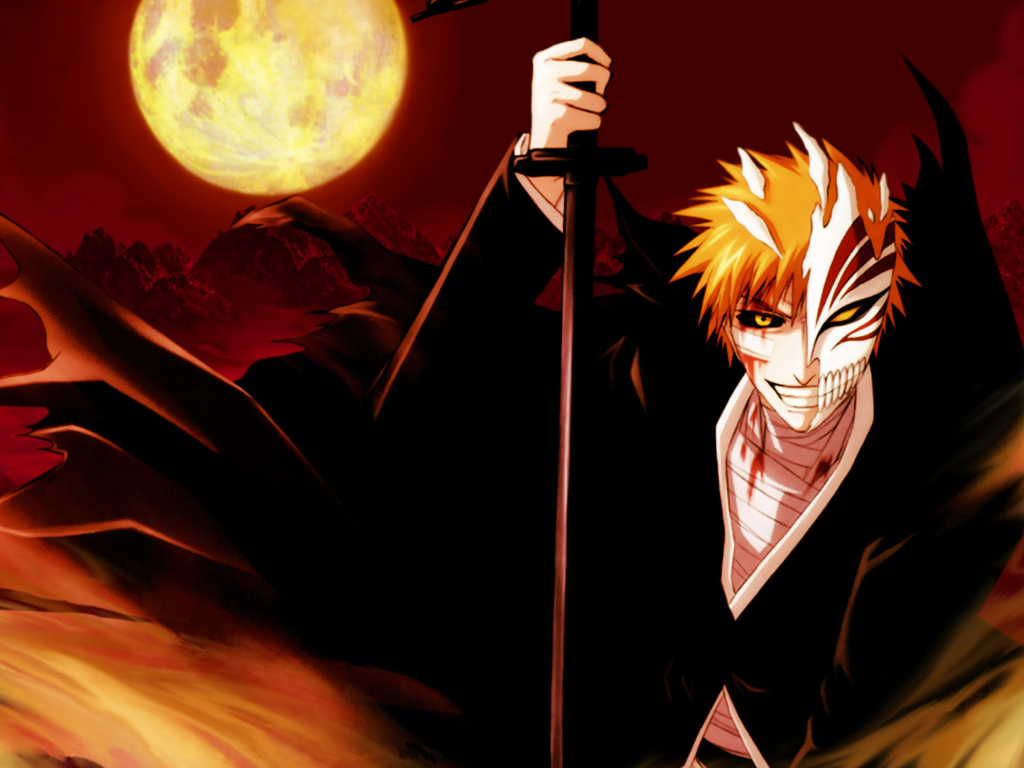Free HD Wallpaper Download Bleach Aburai Renji Bankai Captains Kenpachi Hitsugaya Kuchiki Anime