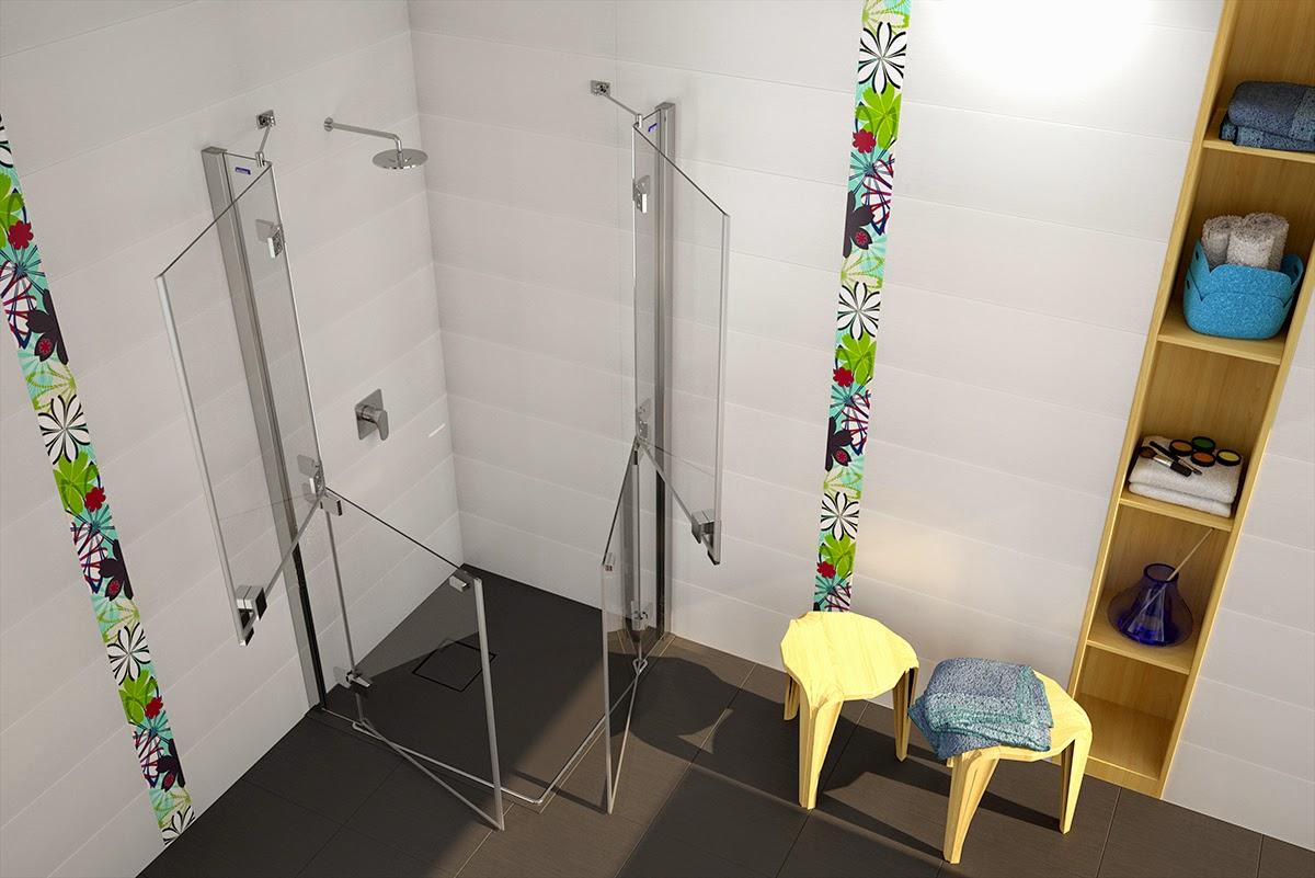 Mamparas de baño adaptadas