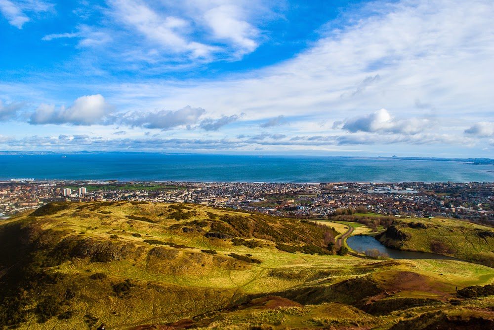 arthur's seat edinburgh great views