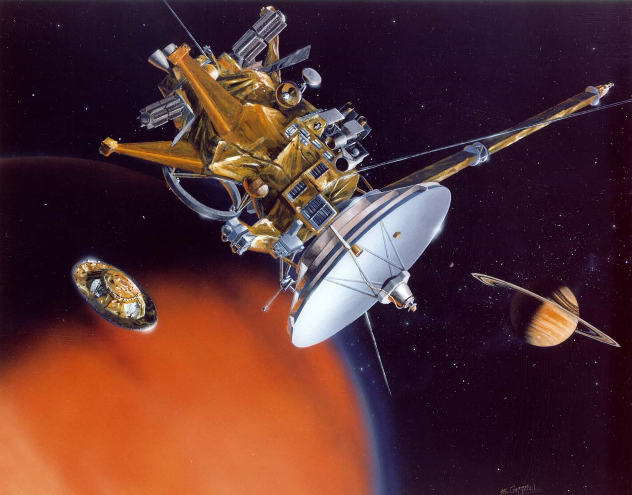 from saturn huygens probe pictures - photo #8