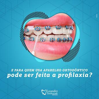 Leandro Szatkowski Odontologia é o lugar certo - Rua João Ferreira Neves, 200 - Centro - Turvo.