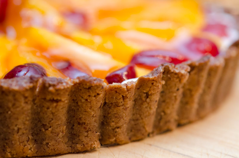 Sugar & Spice by Celeste: Fresh Cherry & Peach Tart