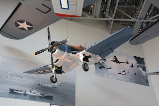 Change-Vought F4U at World War II Museum in New Orleans