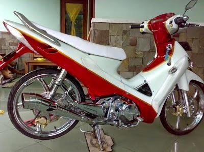 Modifikasi Honda Supra X 125 Terbaru Terpopuler