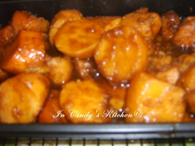 In Cindy's Kitchen: Bourbon-Glazed Sweet Potatoes
