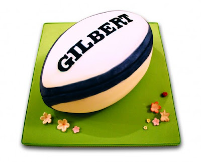 Lydia Bakes: Rugby Cakes for the All Blacks Win!