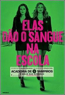 Academia de Vampiros: O Beijo das Sombras Dublado
