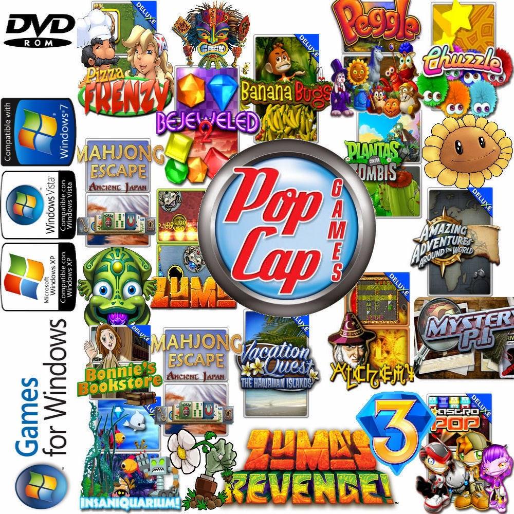 скачать бесплатно мини игры от pop cap: