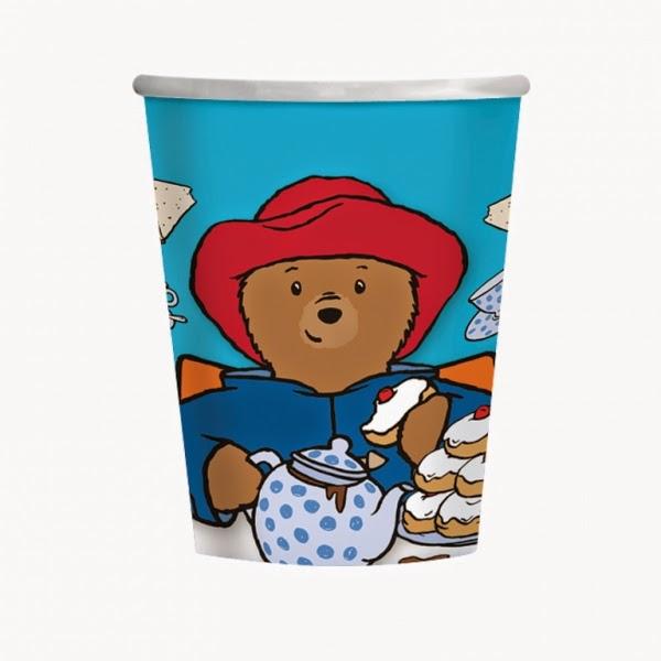 Paddington Bear Party Cups